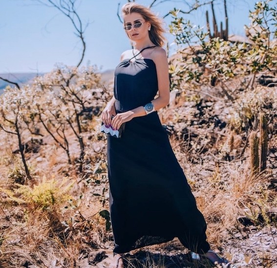 Vestido longo Marina