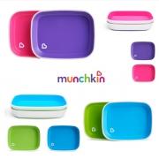 Conjunto de Pratos Munchkin diversas cores Livre BPA 6m+