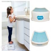 Degrau Infantil Step Dots Antiderrapante Clingo Azul