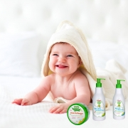 Kit Banho Bebê Cheiroso Infantil Bio Club Hipoalergênico