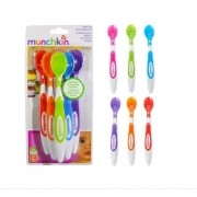 Kit de 6 Colheres Infantil Colorida 6 Unidades - Munchkin