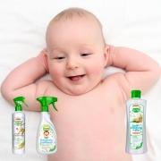 Kit Limpa Sapatinhos Brinquedos e Chãozinho do Bebê BioClub