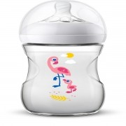 Mamadeira Pétala 260ml Safari Flamingo 1m+ - Philips Avent