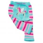 Meia Calça Legging Bebê Estampa Divertida Unicornio