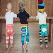 Meia Calça Legging Bebê Estampas Divertidas 0-6 Meses