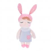 Boneca Mini MeToo Doll Angela Classica Cinza 20cm Original