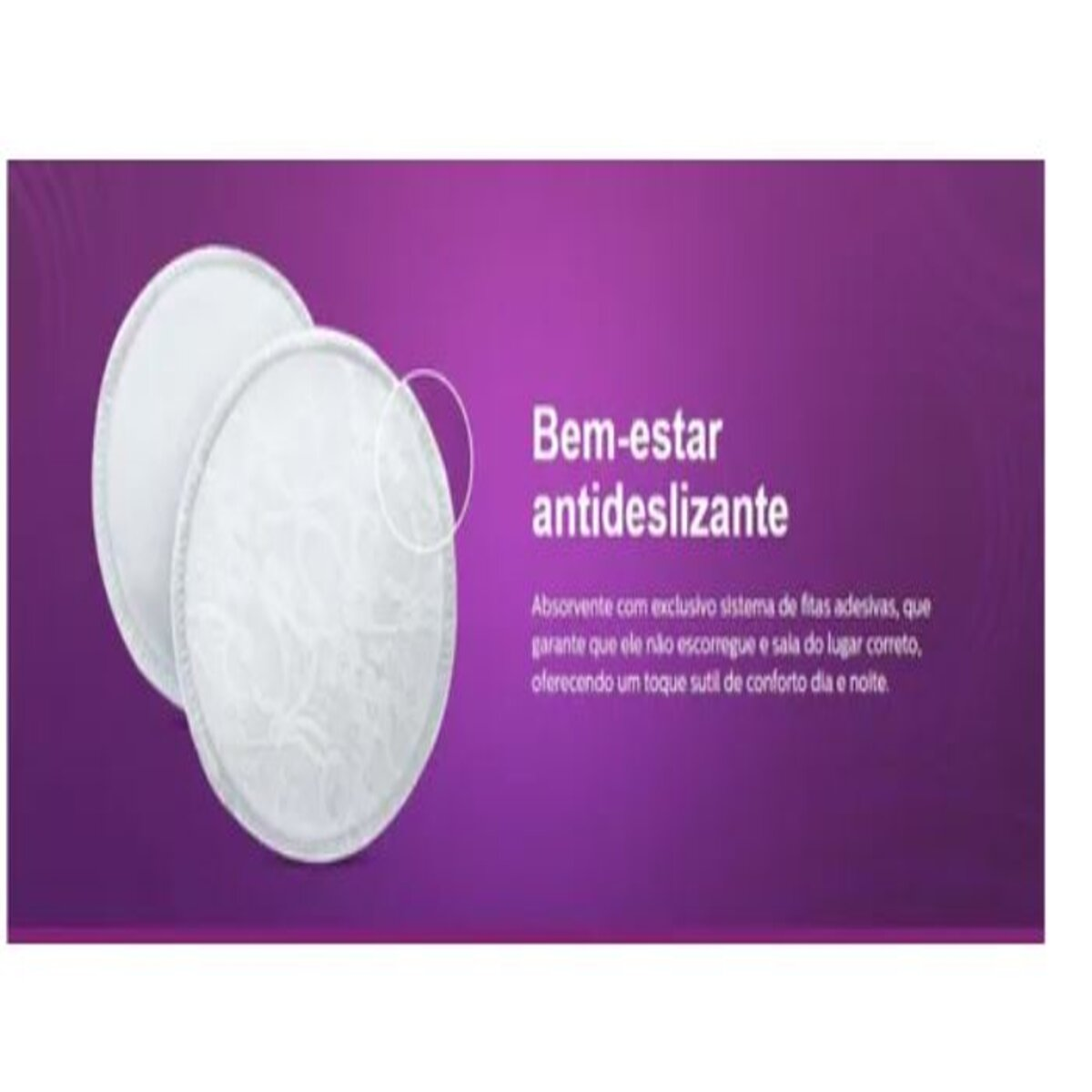 ABSORVENTE DESCARTAVEL PARA SEIOS 24PCS
