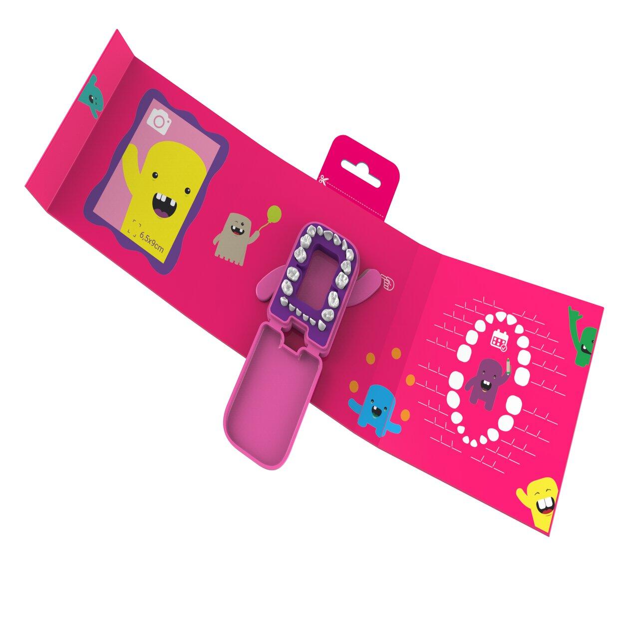 Álbum Porta Dentinhos - Rosa