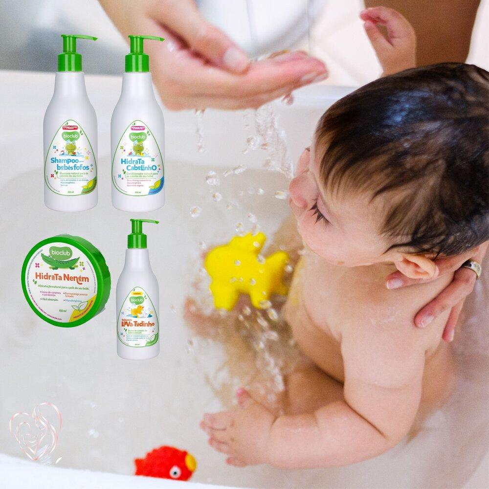 BioClub Sabonete Liquido, Shampoo, Condicionador, Hidratante