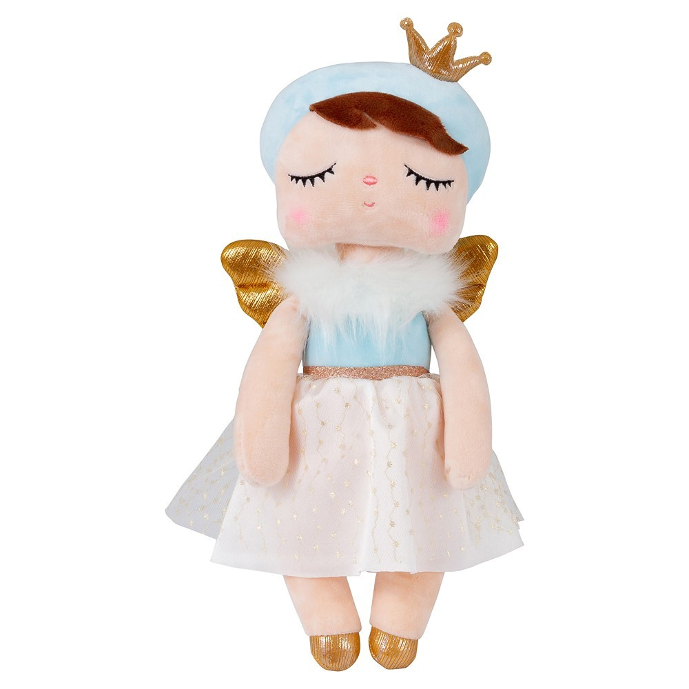 Boneca Metoo Angela Angel Azul 33 cm