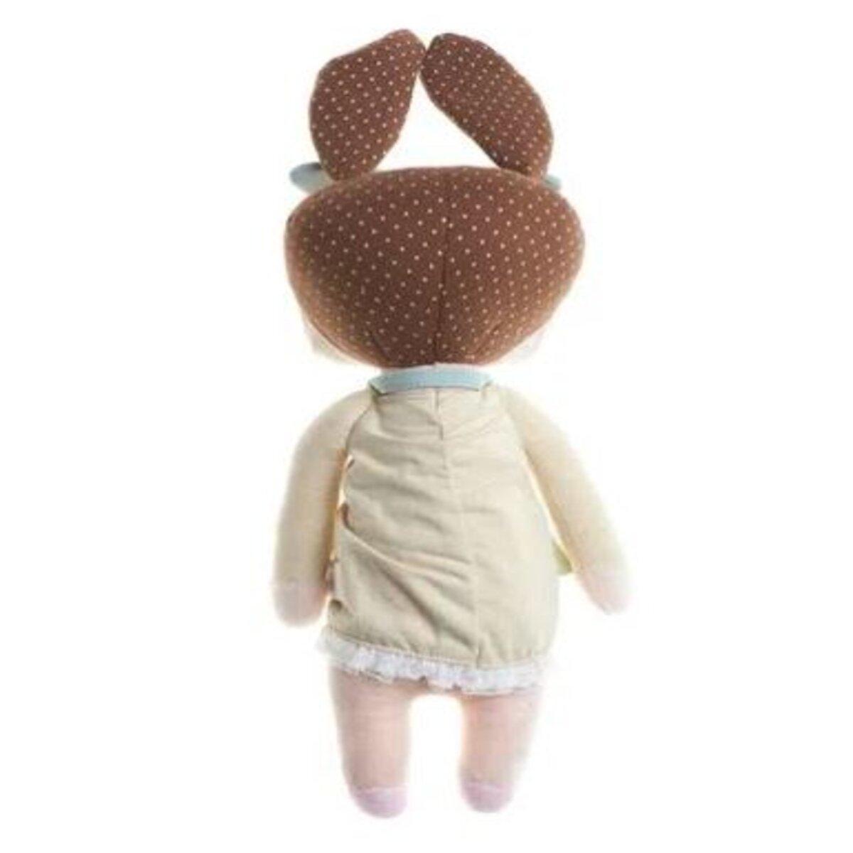 Boneca Metoo Angela Chocolate 33cm Original com Sacola