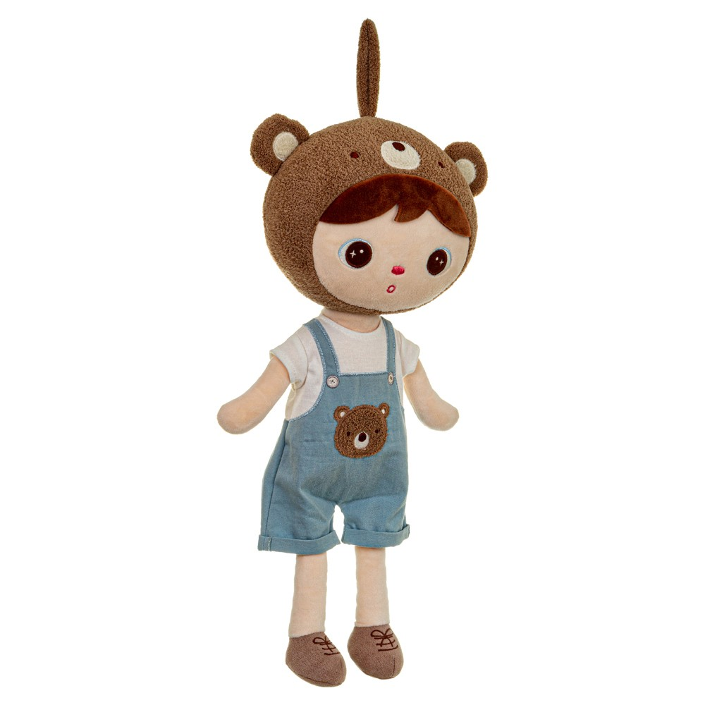 Boneca Metoo Jimbao Boy Bear 33 cm