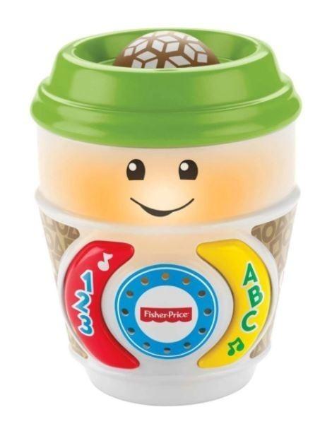 Brinquedo Aprender e Brincar Cafezinho Fisher Price