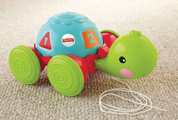 Brinquedo Empurra Tartaruga Fisher Price