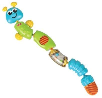 Brinquedo Lagarta Cores Divertidas Fisher Price