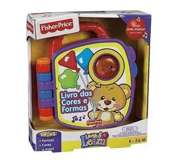 Brinquedo Livrinho Aprender e Brincar Fisher Price