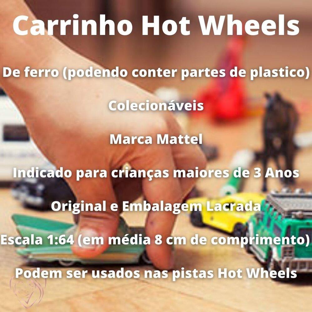 Carrinhos Hot Wheels Colecionáveis Miniaturas Mattel Diversos