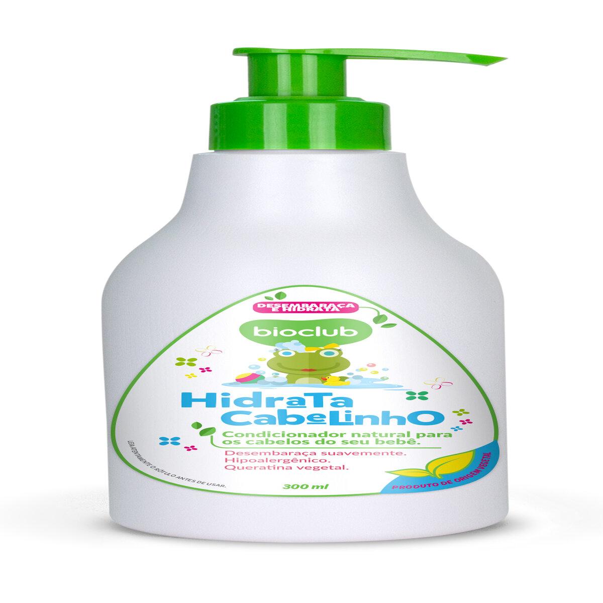 Condicionador Infantil com extrato de mamona 300ML - BioClub