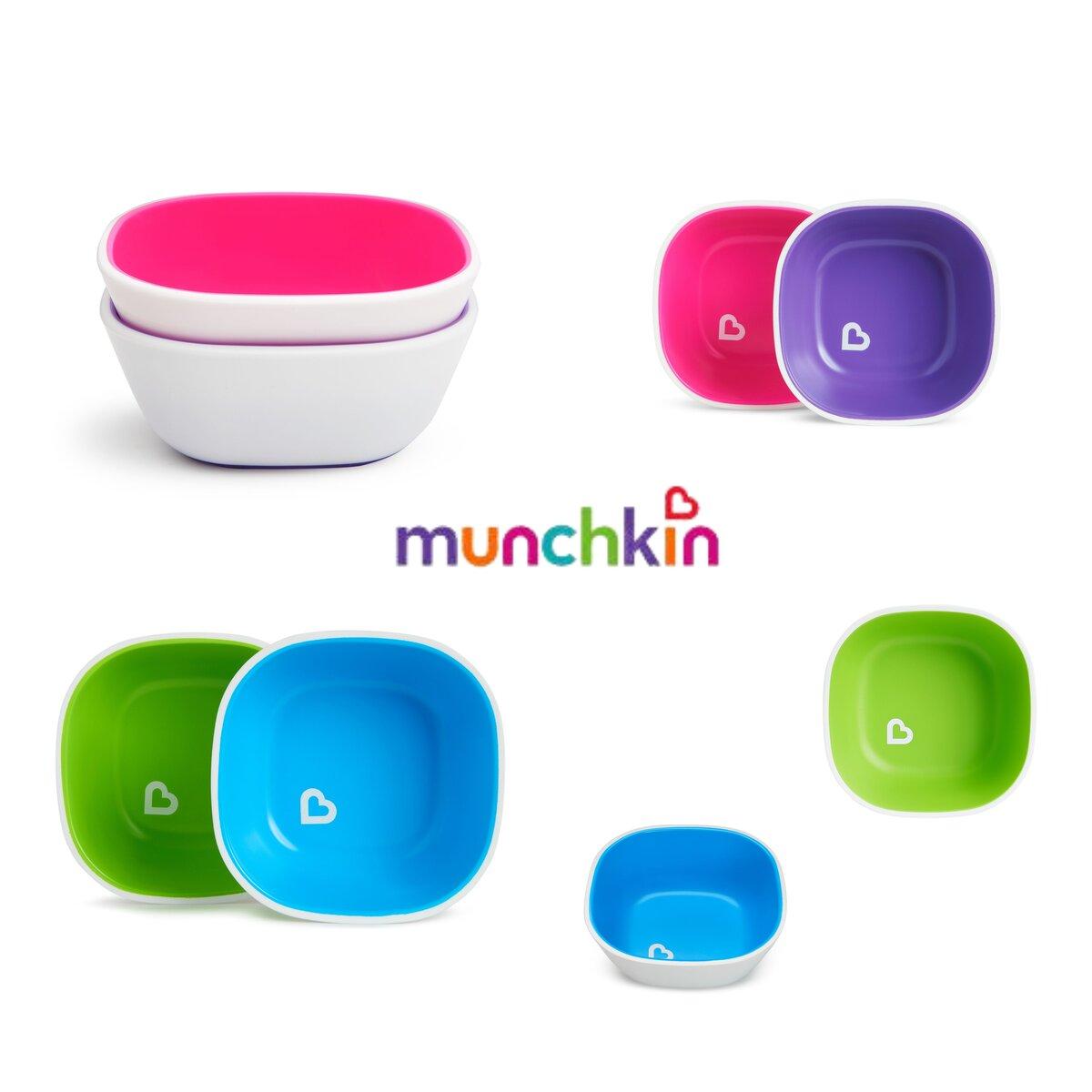 Conjunto de Tigelas 2 unidades Munchkin - Livre de BPA