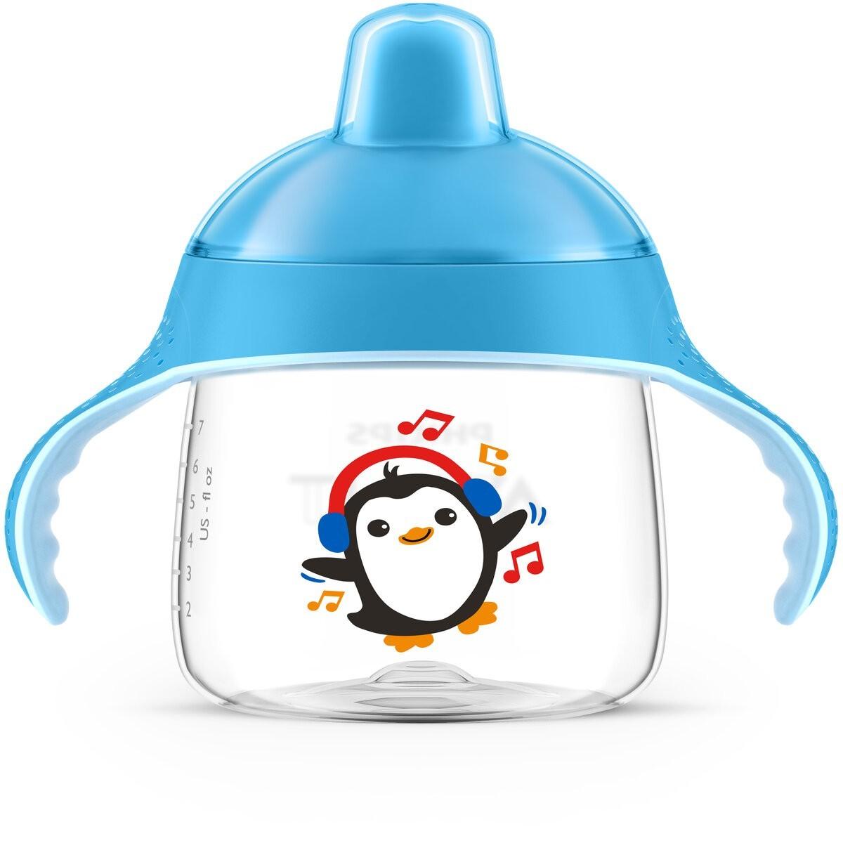 Copo Pinguim 260ml +12m Azul Philips Avent