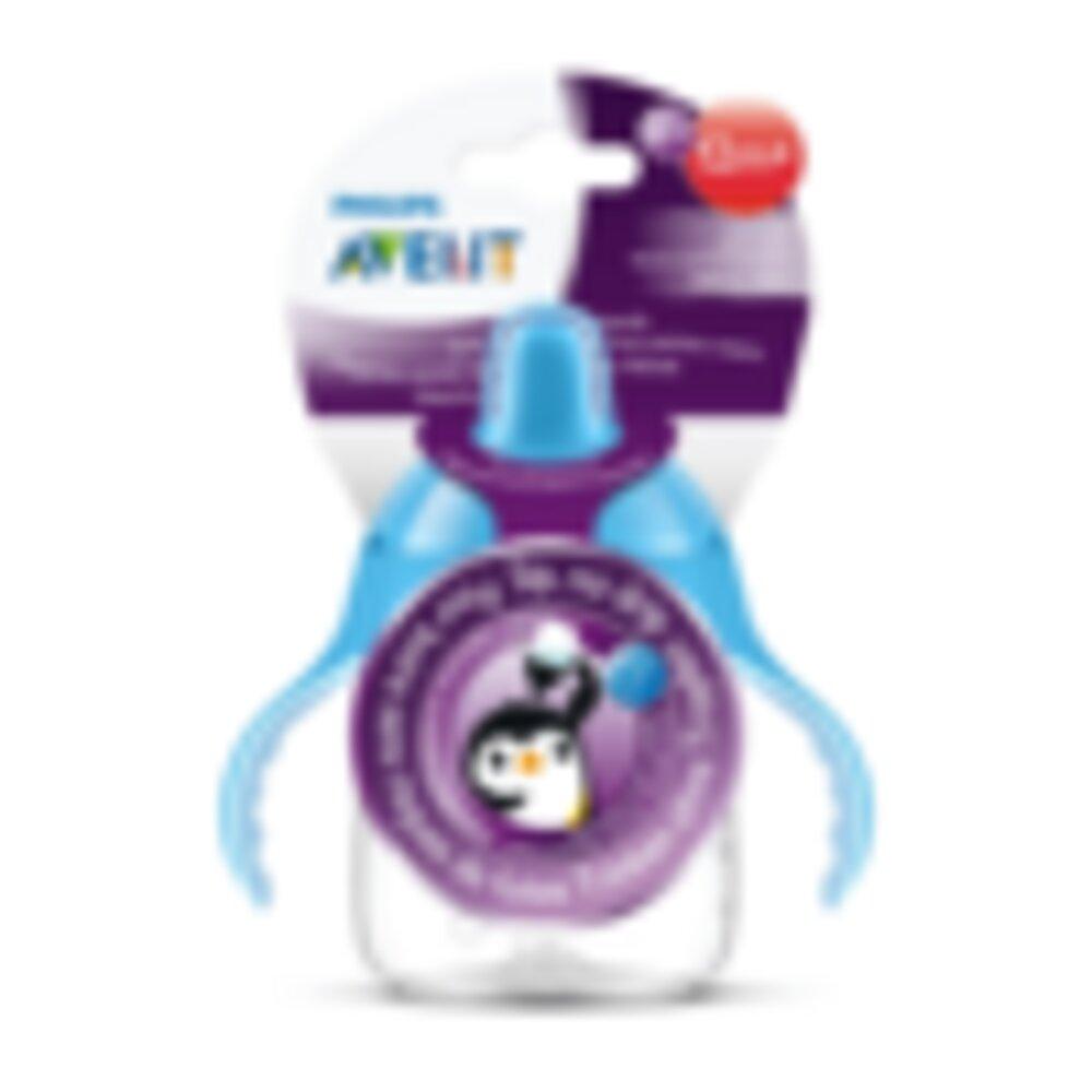 Copo Pinguim Philips Avent 260ml Antivazamento - Azul