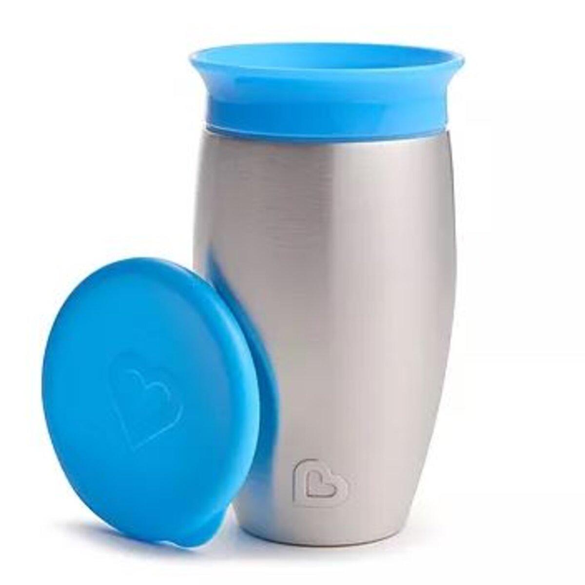 Copo Termico Inox 360 Azul - Munchikin