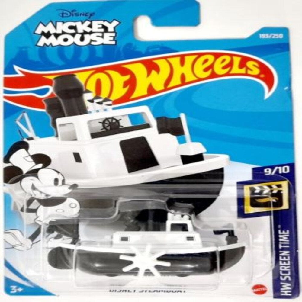 Disney Steamboat - Mickey Mouse Barco Hot Wheels 2021