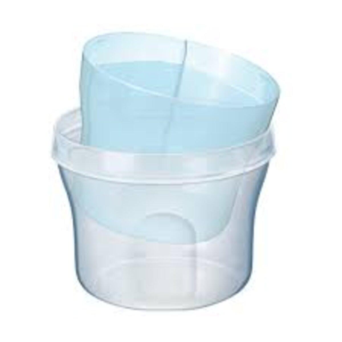 Dosador Leite em Pó e Escova Mamadeiras e Bicos Azul Avent