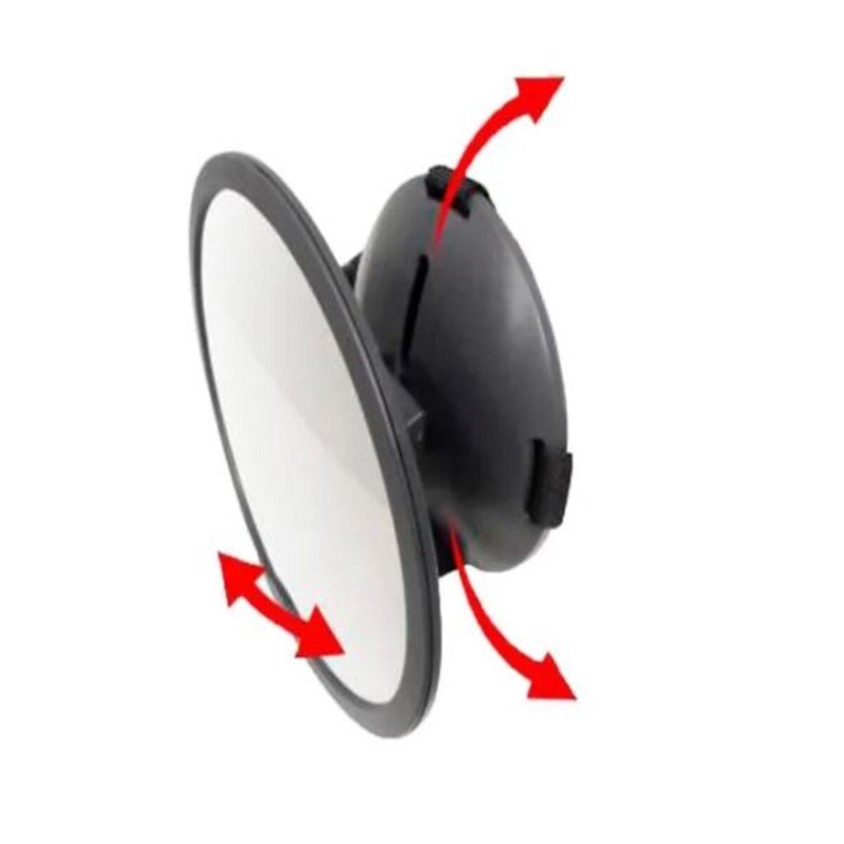 Espelho Retrovisor Redondo Para Carro Clingo