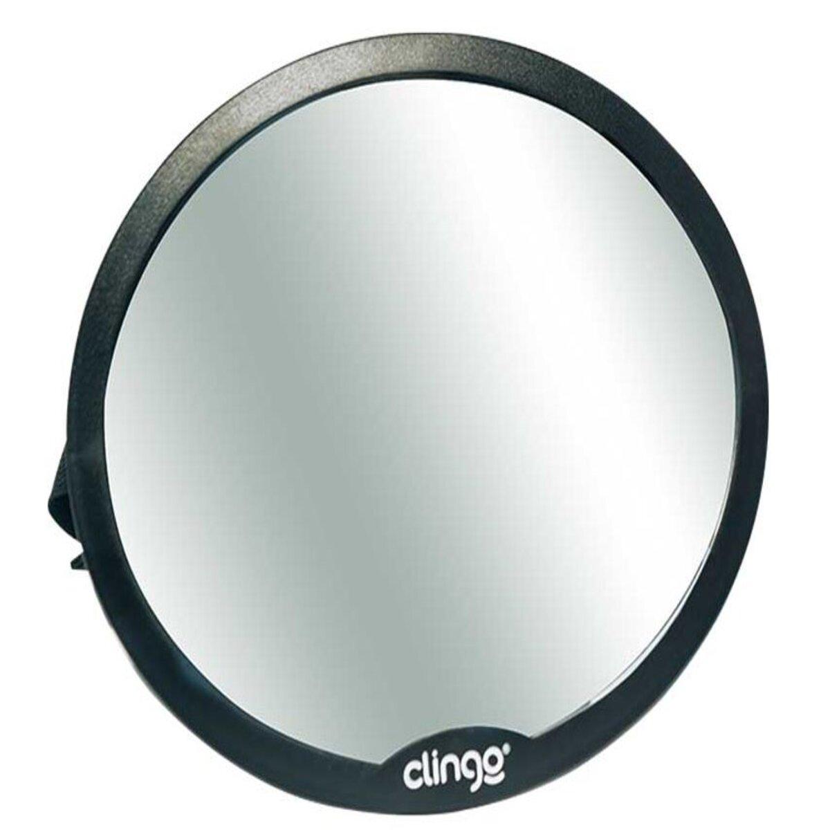 Espelho Retrovisor Redondo Round para Carro Clingo