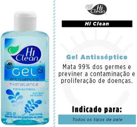 Hiclean Gel Antisséptico Extrato de Algas 70ml