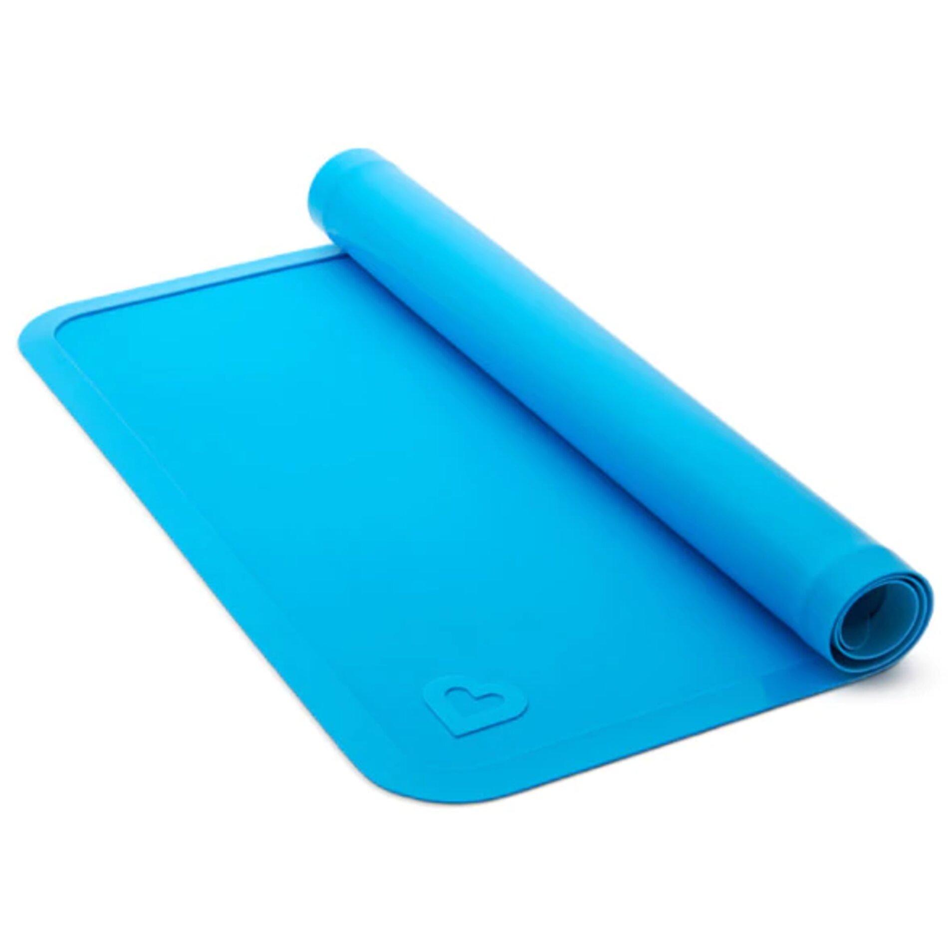 Jogo Americano de Silicone Azul e Roxo (Emb. c/ 02 unid.)