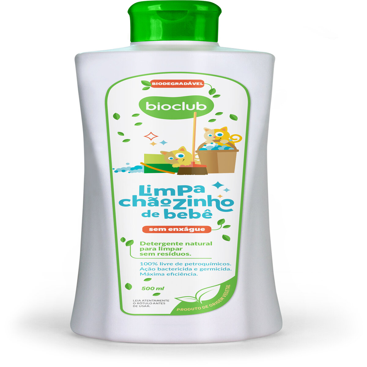 Limpeza de Chão Concentrado Orgânico 500 ml - Bioclub