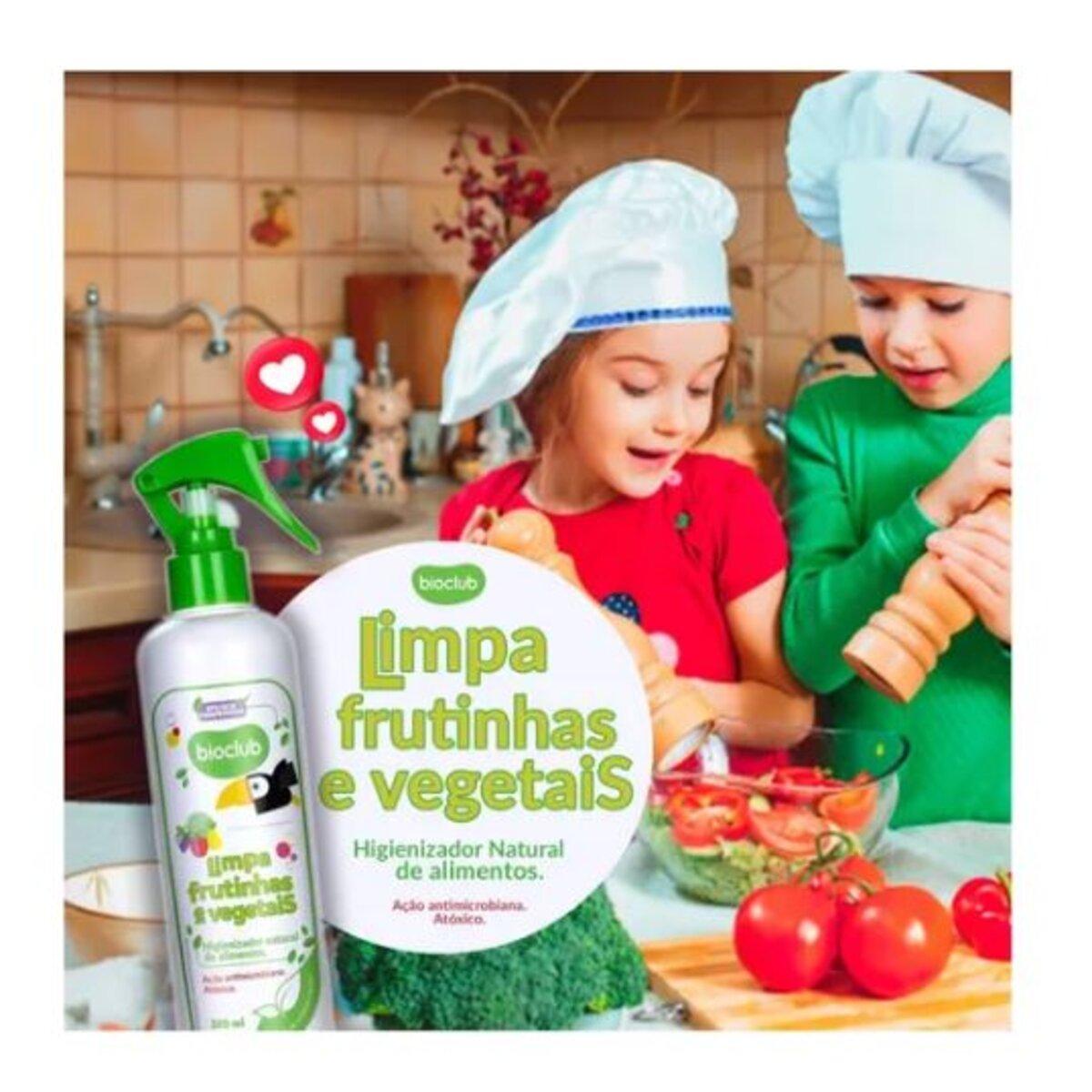 Limpeza de Frutas e Vegetais Orgânico 300ml - Bioclub