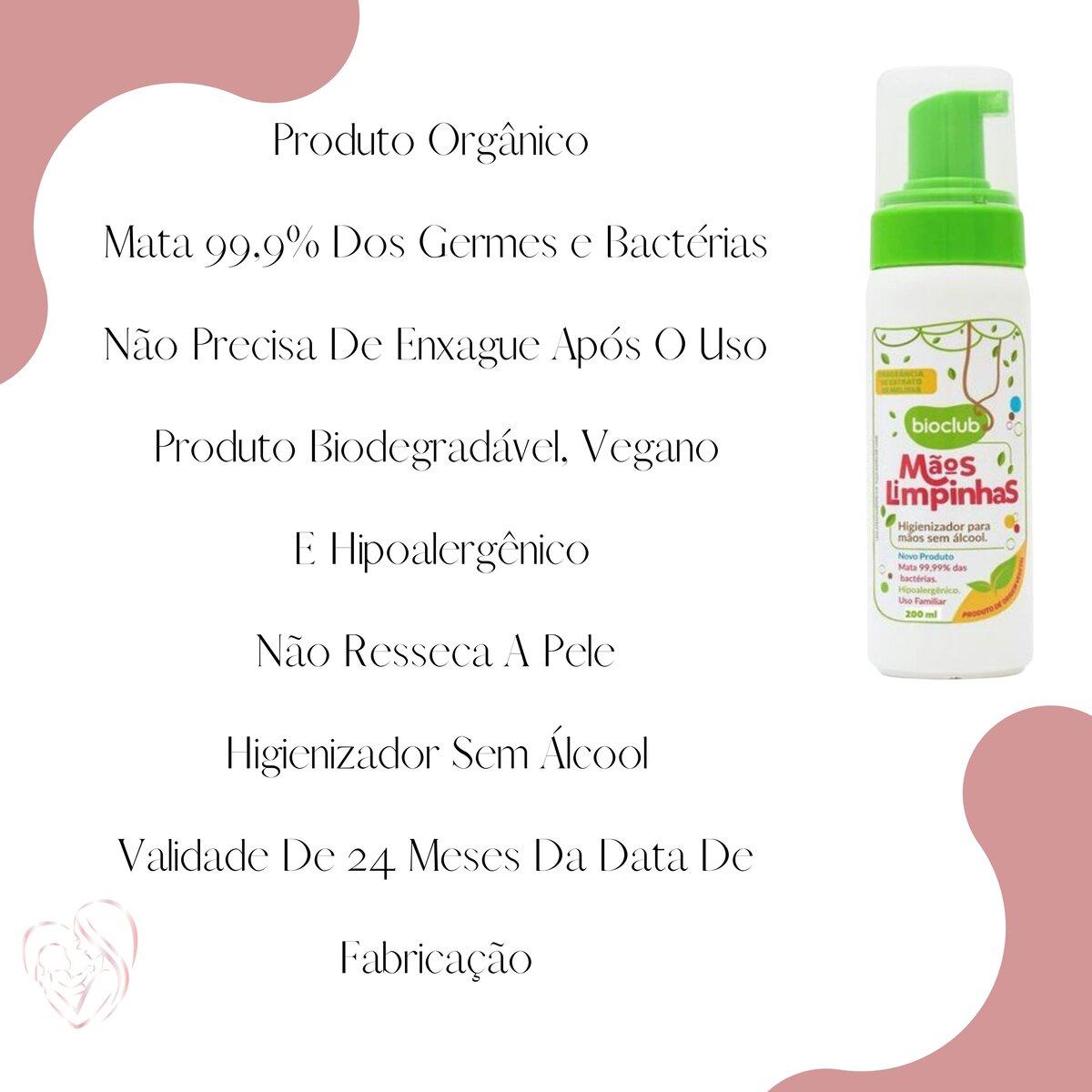Mãos Limpinhas Bioclub® 150ml