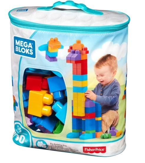 Mega Bloks Pré Sacola 80 peças Fisher Price