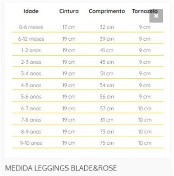 MEIA CALCA LEGGING NUVEM 0-6 M