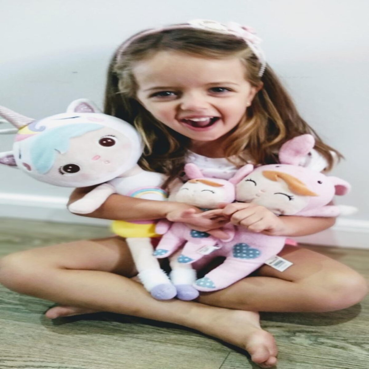 Mini Metoo doll Angela Jardineira Salmão