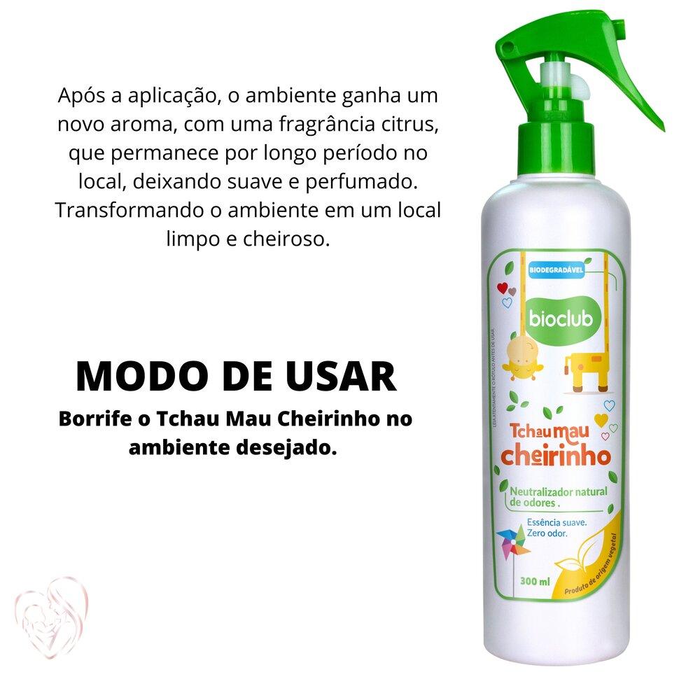 Neutralizador Natural de Cheiros e Odores BioClub