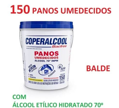 PANOS UMED BALDE COPERALCOOL C/150 - TRADICIONAL