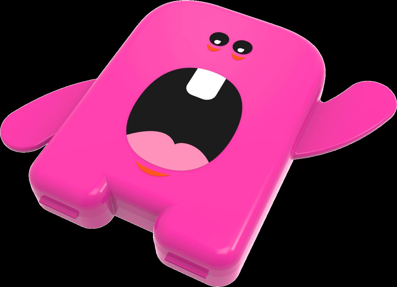 Porta Dentinhos de Leite - Rosa - Angie