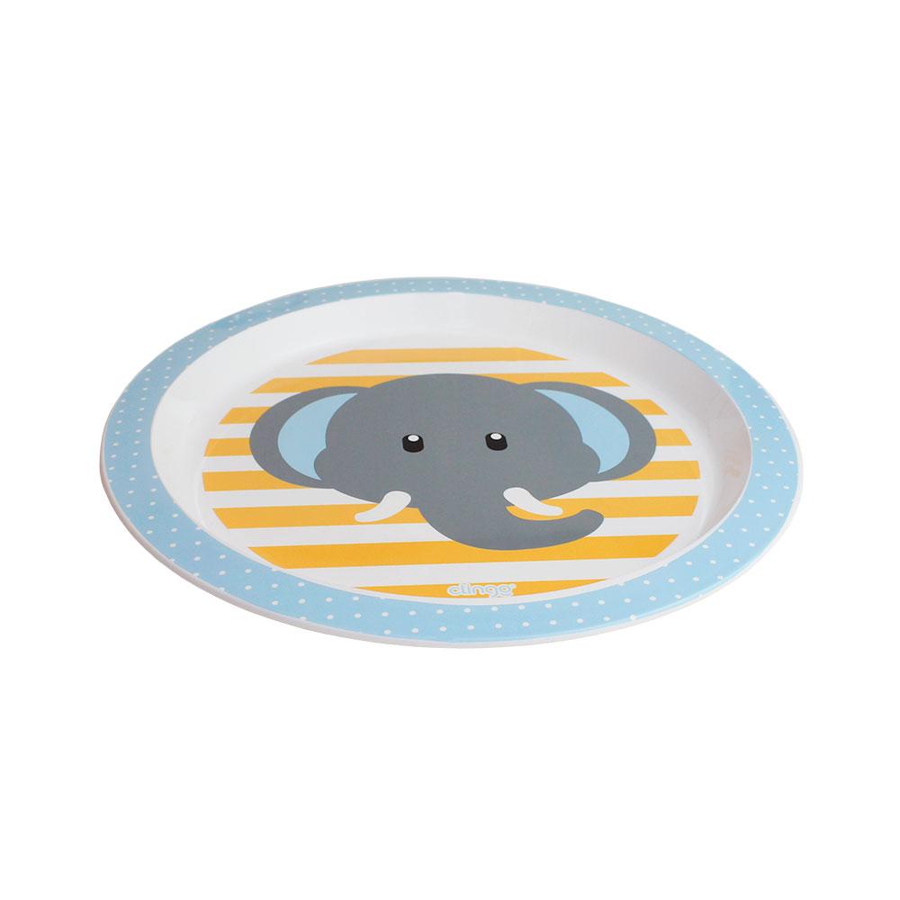 Prato Raso Infantil Elefante Clingo