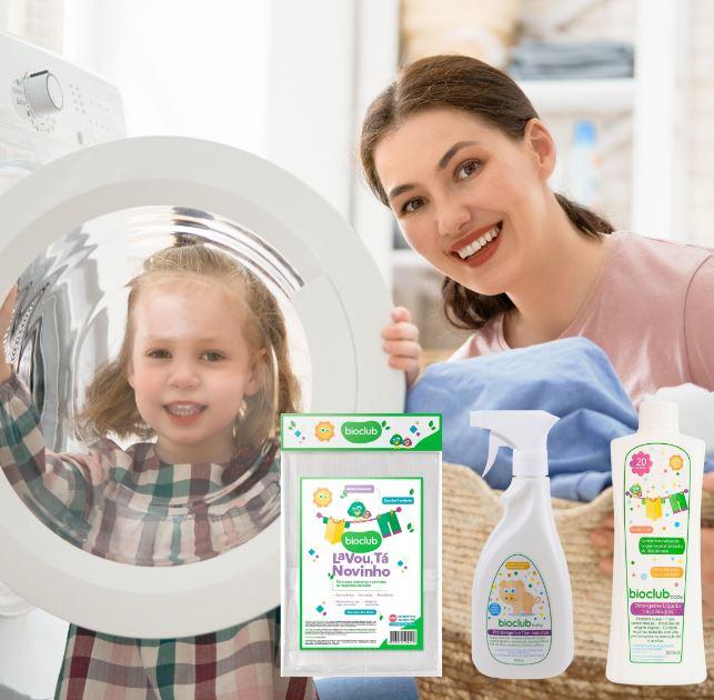 Saco Para Roupas /Detergente Natural e Tira Manchas 500ml