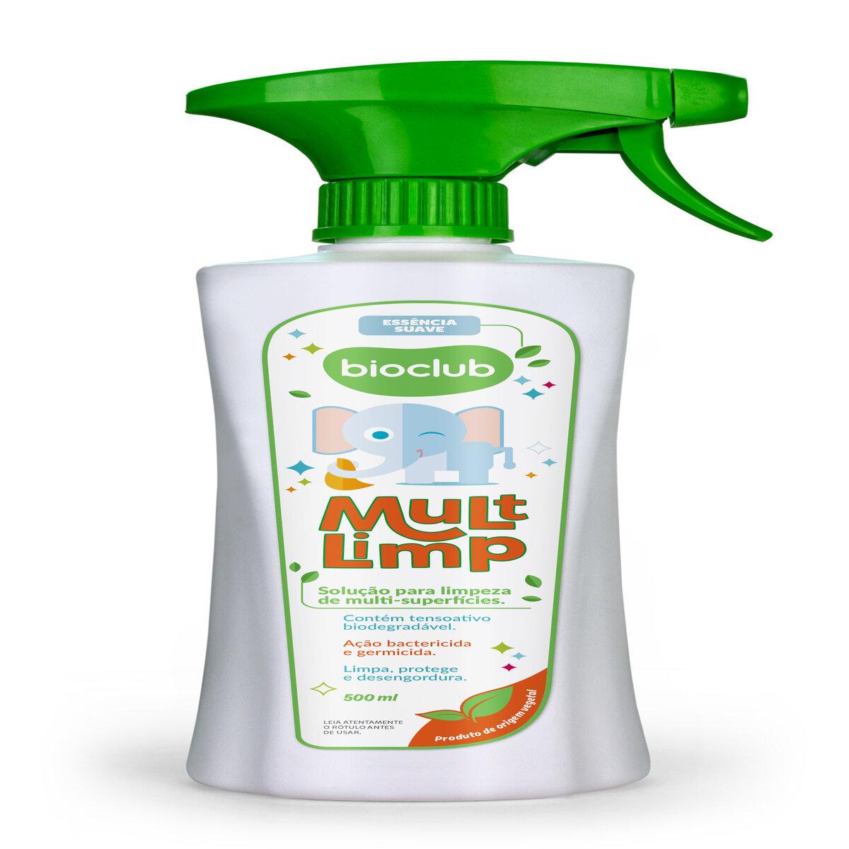 Spray Multi Limpeza de Superfícies 500 ml - BioClub