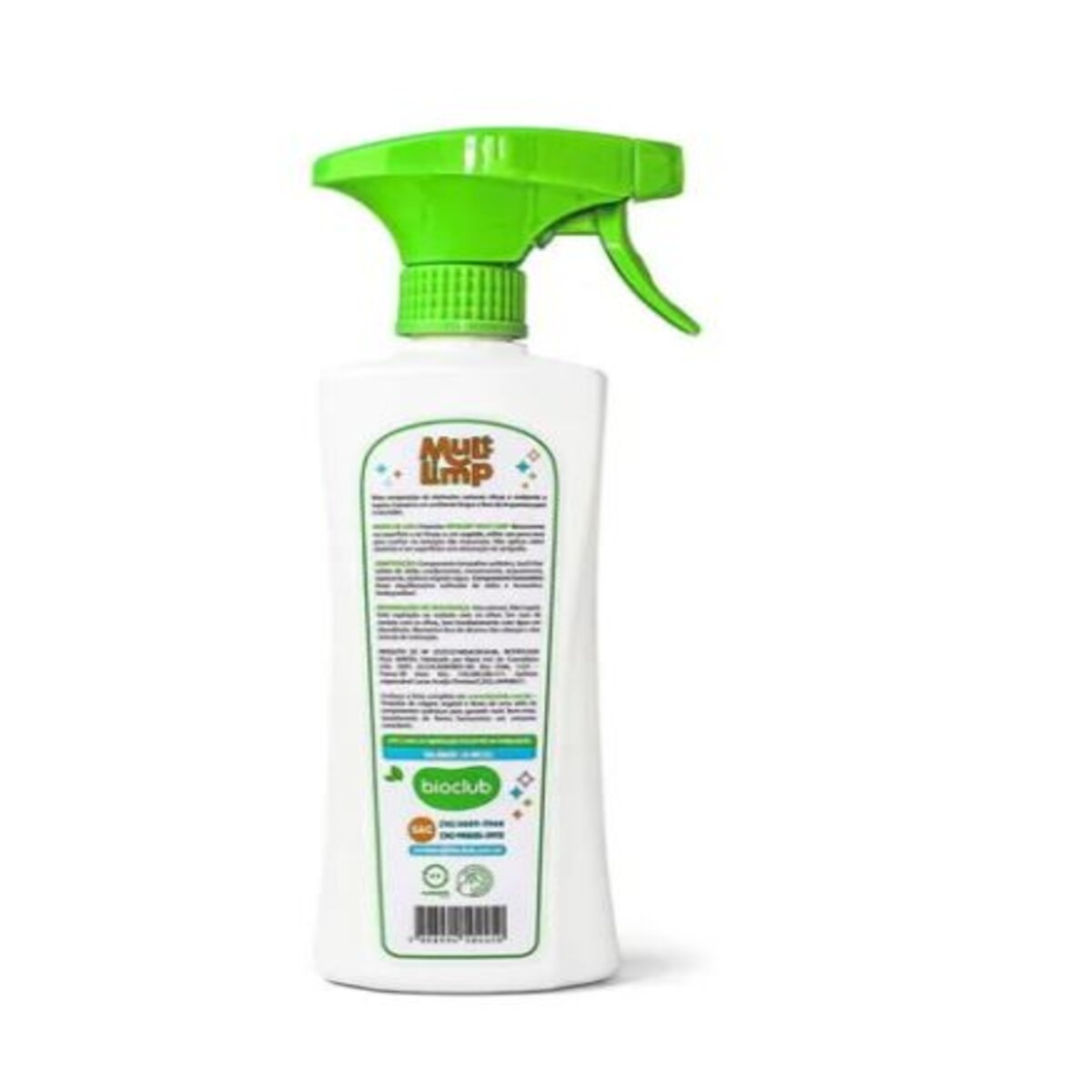Spray Multi Limpeza de Superfícies 500 ml - BioClub