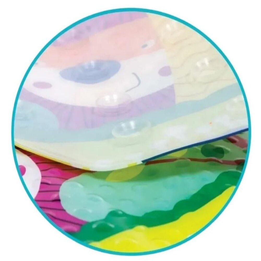 Tapete Para Banho Infantil Antiderrapante Turminha Guara