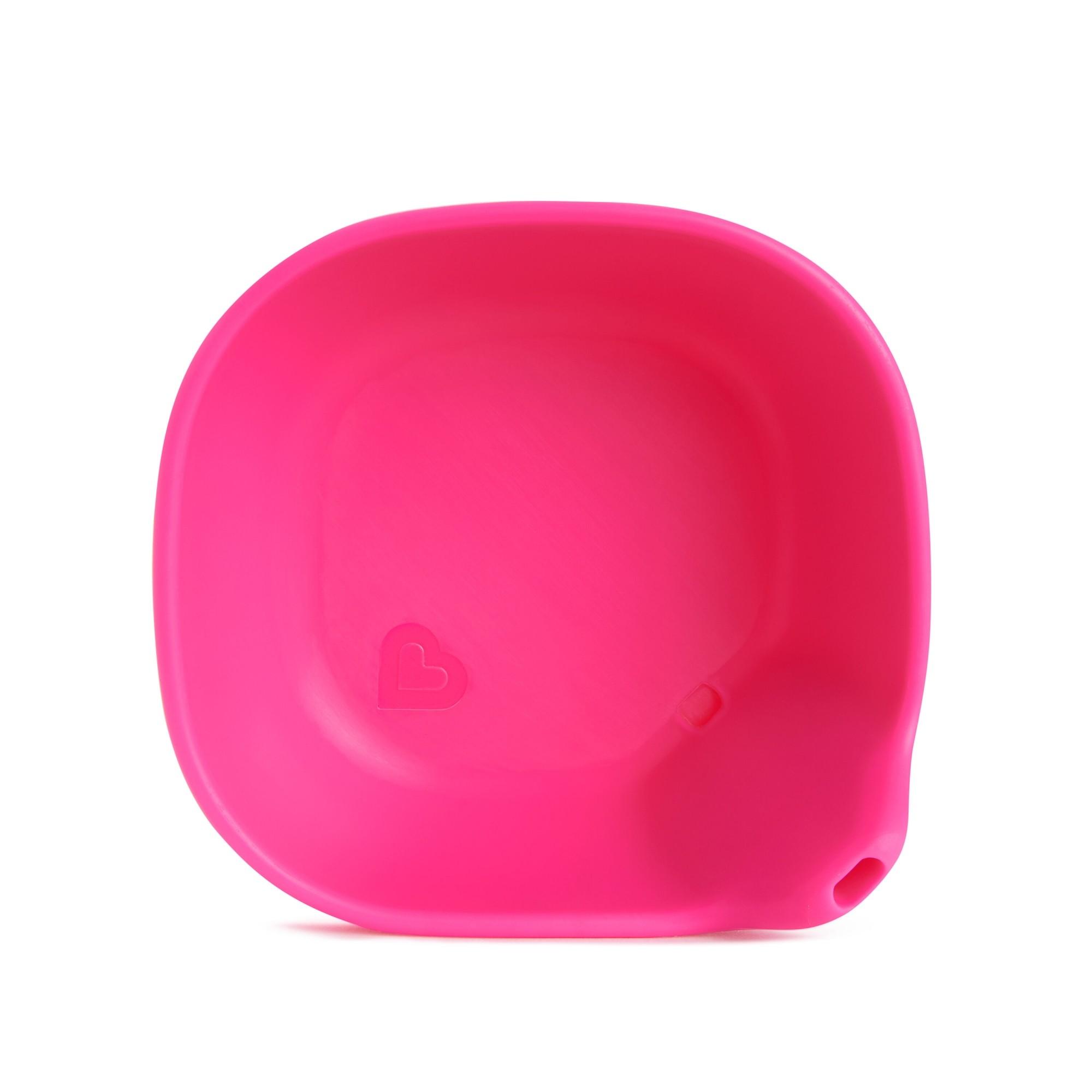 Tigela de Silicone Rosa - Munchkin