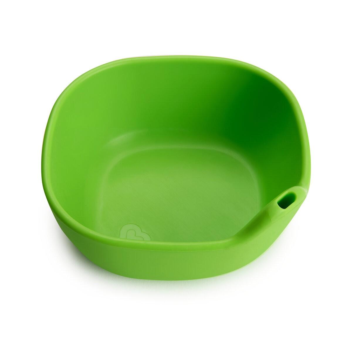 Tigela de Silicone Verde - Munchkin