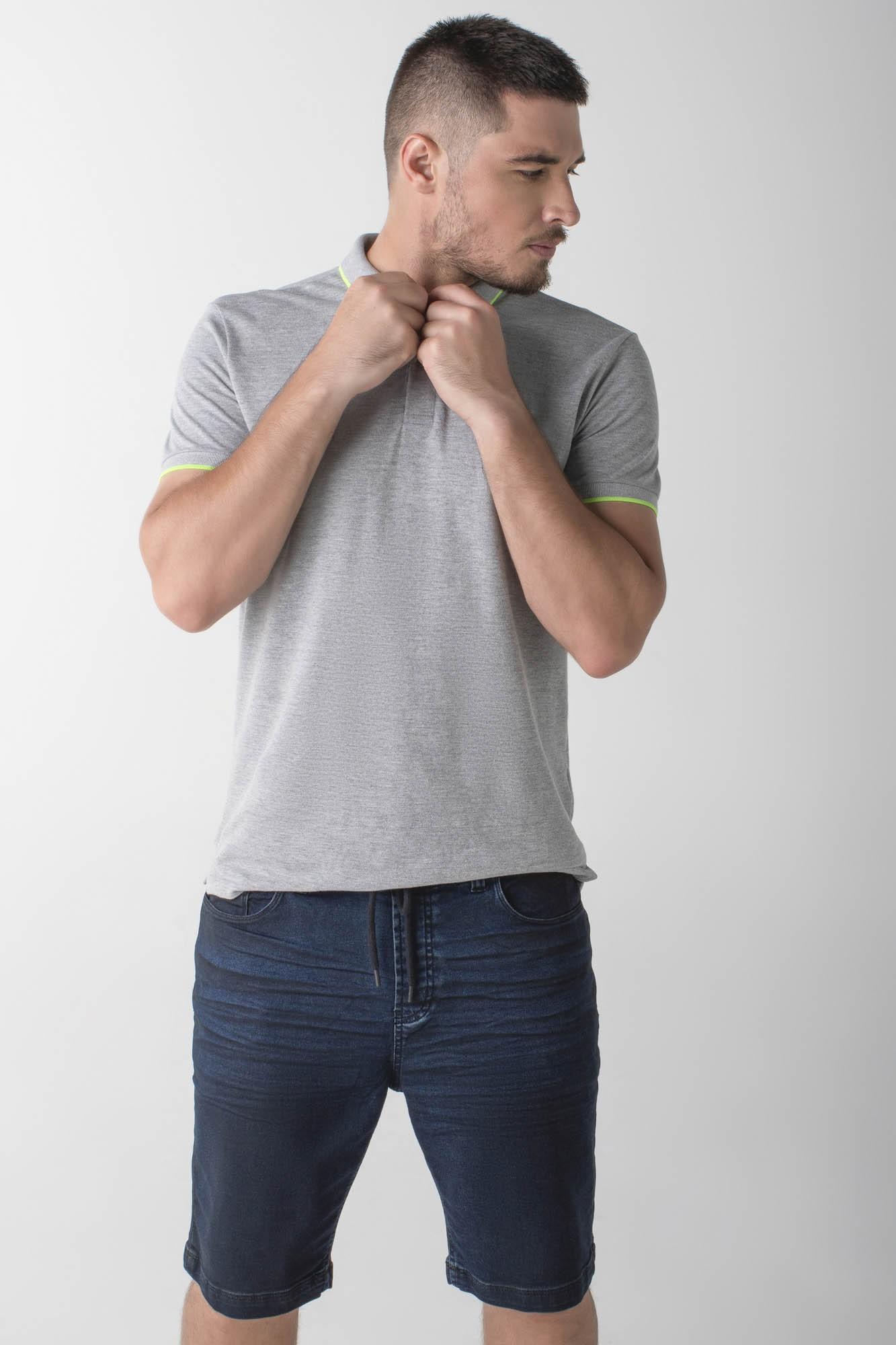 Bermuda jeans jogger - Wave