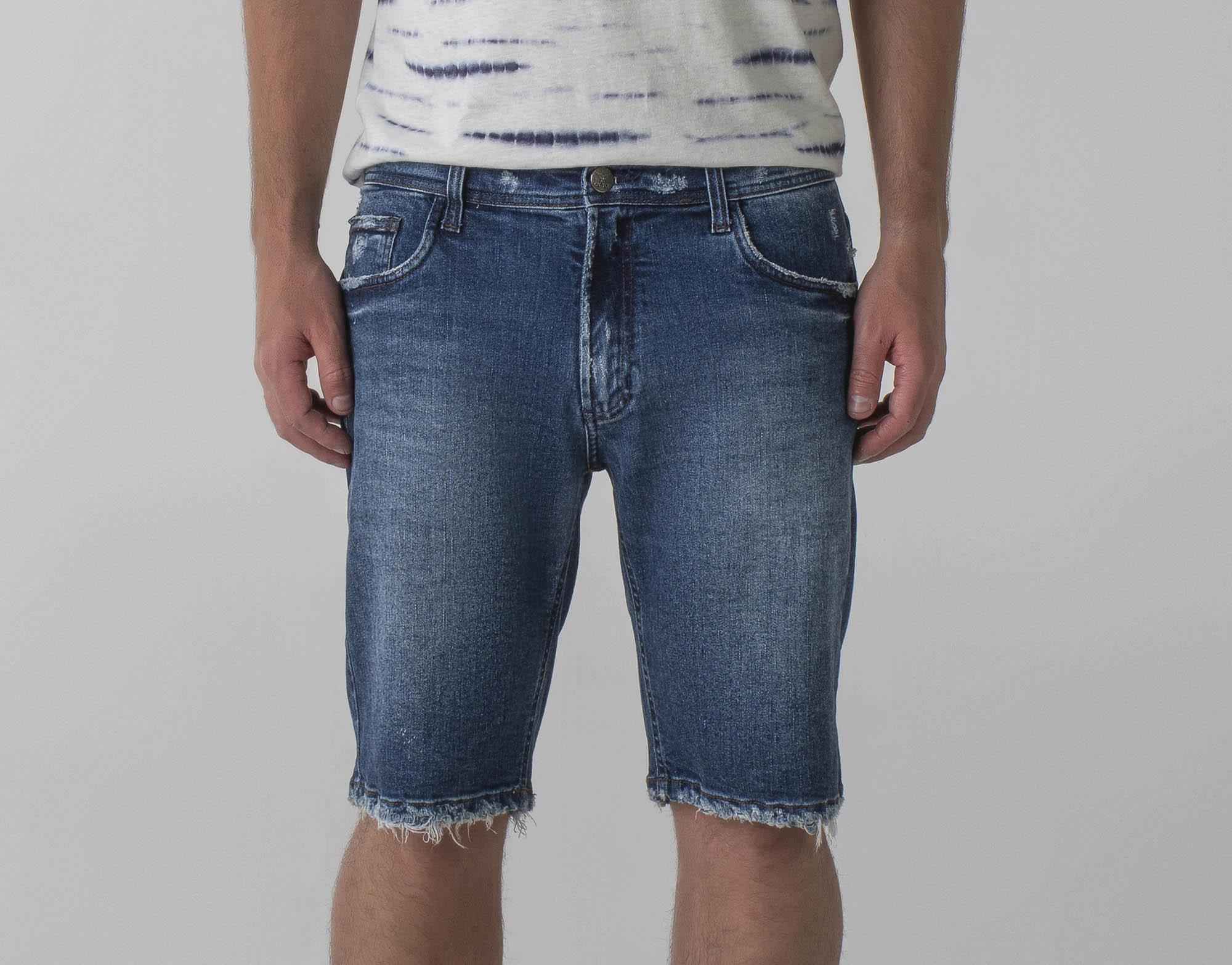 Bermuda jeans slim - Wave